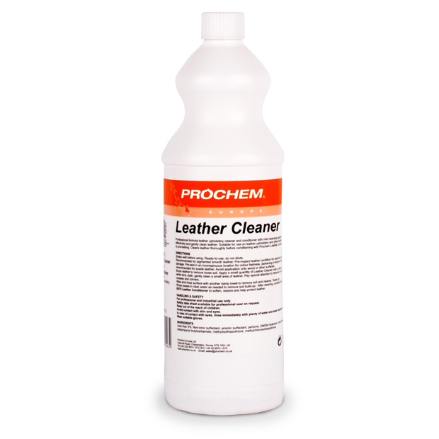 Prochem Leather Upholstery Cleaner Conditioner With Neatsfoot Oil 1 Litre Ebay