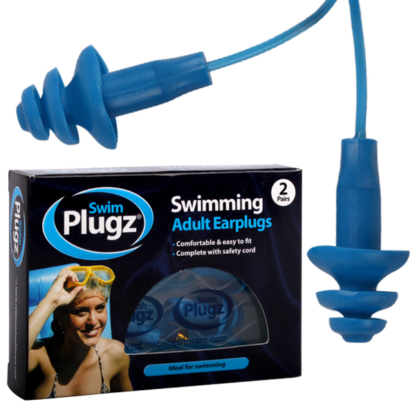 how to fix a blocked ear from swimming